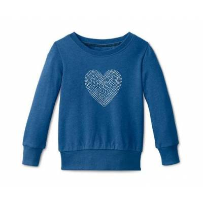 Tchibo Sweatshirt, Tchibo Blåmeleret 134/140 - Børnetøj - Tchibo