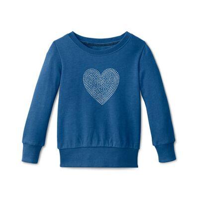 Tchibo Sweatshirt, Tchibo Blåmeleret 122/128 - Børnetøj - Tchibo