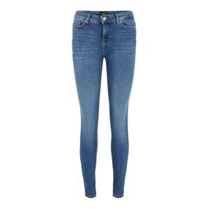 VERO MODA Vmseven Normal Waist Slim Fit Jeans Kvinder Blå Medium Blue Denim