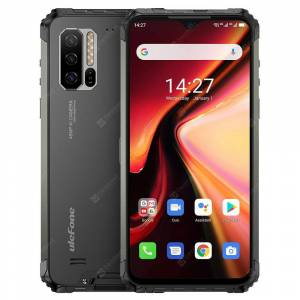 Ulefone Armor 7 4G Smartphone 6.3 Inch Android 9.0 Helio P90 Octa Core 2.2GHz 8GB RAM 128GB ROM 3 Rear Camera 5500mAh Battery IP68 / IP69K Waterproof Heart Rate Sensor Global Version