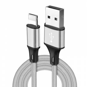 Gearbest Nylon Braided USB Charging Data Cable for iPhone 6 6S 7 8 Plus 5 5S X XS MAX XR Fast Charger Cables