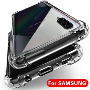 Gearbest Clear Shockproof Case for Samsung Galaxy S10 S8 S9 Plus A10 A20 A30 A40 A50 A70 Silicone Phone Cases for Samsung S10 Back Cover