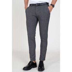 Tailored Originals Tailored & Originals Nashua Frederic Pants Dark Grey Melange