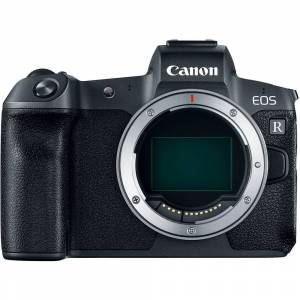 Canon EOS R Mirrorless Digital Camera with EF-EOS R Mount Adaptor (Body Only)