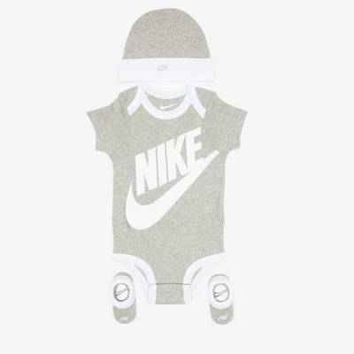 Nike Nhn Futura LOGo Grey Unisex - Børnetøj - Nike
