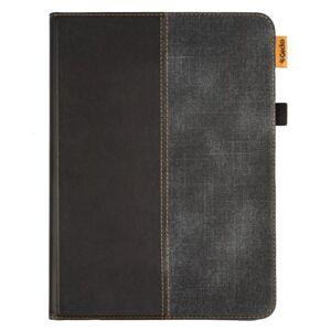 Gecko iPad Air (2020) - Gecko Easy-Click 2.0 Stof Cover m. Pencil Holder- Sort / Grå
