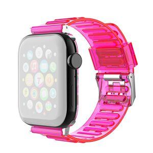 MOBILCOVERS.DK Smartwatch Fleksibel Plastik Rem (22mm) m. Spænde - Pink