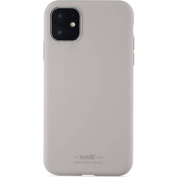Holdit iPhone 11 Soft Touch Silikone Case - Taupe