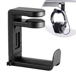 Desire2 Tidy Justerbar Holder til Headset - Sort