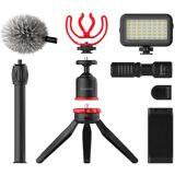 BOYA BY-VG350 Smartphone Video Kit m. LED Lys