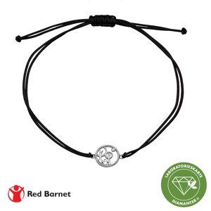 Aagaard AAG Red Barnet, armbånd, sølv m/1 x 0,01 ct LG diamant TW/ SI2 1601-KV-RB-S
