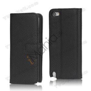 Apple Læder Magnetisk Case Cover med Holder til iPod Touch 5