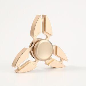 Alu tri-spinner - Guldfarvet