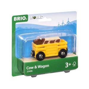 Brio Kvægvogn - 33406 - BRIO Tog