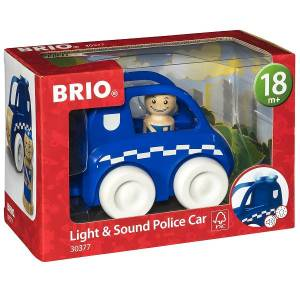 Brio Lys & lyd Politibil - 30377 - BRIO