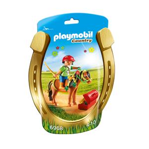 "Playmobil Ponyen ""Blomst"" til at pynte - PL6968 - Playmobil Country"