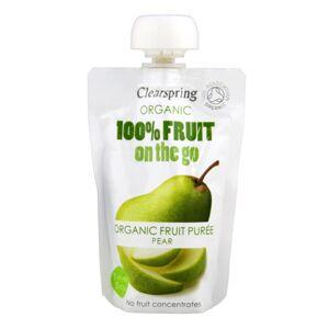 Clearspring Pære Fruit On The Go Ø (100 gr)
