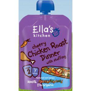 Ellas Kitchen Babymos Kylling/Grøntsager Ø 7 Mdr (130 gr)