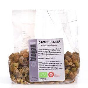 Biogan Rosiner Grønne Rawfood Ø (200 g)