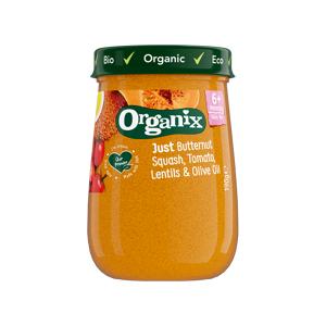 Semper Organix Babymos linser & grønsager Ø fra 6 mdr. (190 g)