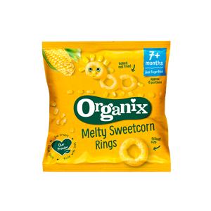 Organix Melty Sweetcorn Rings (20 g)