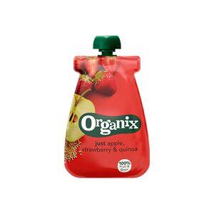 Semper Organix Babymos æble jordbær quinoa Ø  fra 6 mdr (100 g)