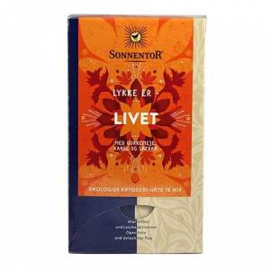 Sonnentor Lykke Er Livet Krydderi-Urte Te Mix Ø (18 br)