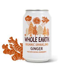 Whole Earth Ingefær sodavand Ø (330 ml)
