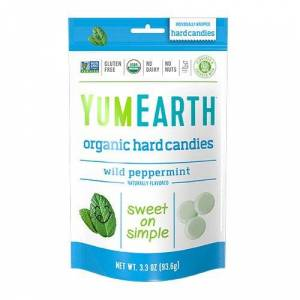 Yum Earth Bolcher Pebermynte (93 g)