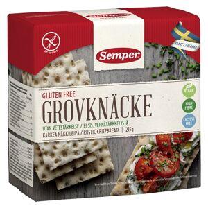 Semper Knækbrød Grov Glutenfri Semper (215 gr)