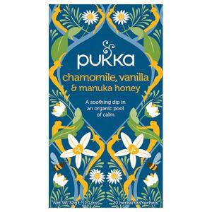Pukka Chamomile, Vanilla & Manuka Honey Te Ø (20 breve)