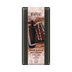 Vivani Mørk Chokolade 85% Ø (100 gr)