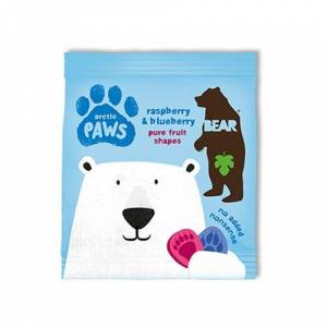 Arctic Bear Arctic Paws hindbær & blåbær (20 g)