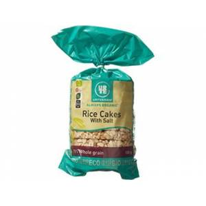 Urtekram Rice cakes salt øko (100 gr)