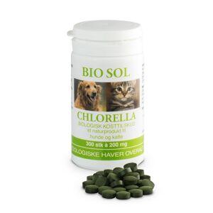 Chlorella Bio Sol Chlorella til vet. brug 500 Tab