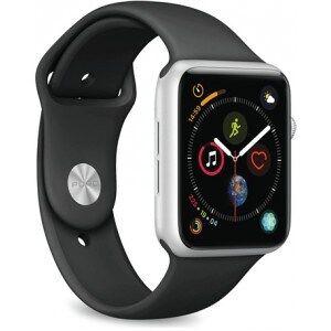 Puro Apple Watch rem, 42-44mm, S/M & M/L, sort