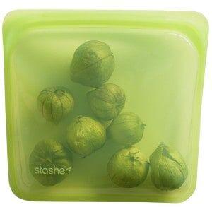 Stasher Lime stasher bag