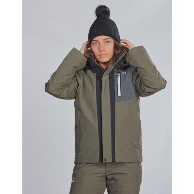 8848 Altitude, Aragon JR Jacket, Grøn, Jakker/Fleece/Veste till Pige, 170 cm - Børnetøj - 8848 Altitude
