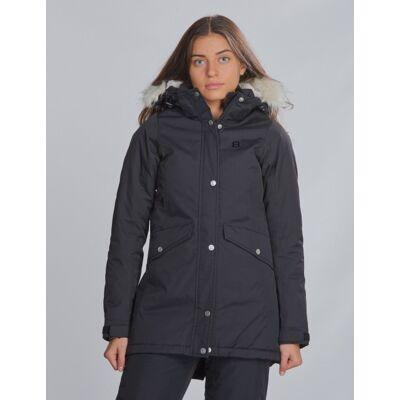 8848 Altitude, Maltese JR Jacket, Sort, Jakker/Fleece/Veste till Pige, 160 cm - Børnetøj - 8848 Altitude