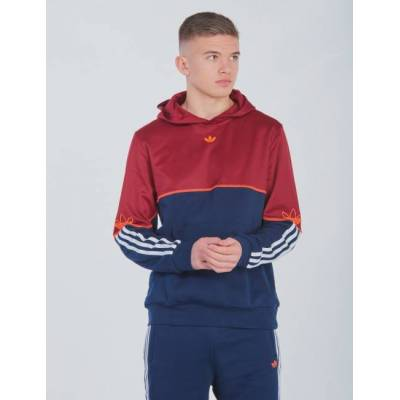 Adidas Originals, OUTLINE HOODIE, Blå, Hættetrøjer till Dreng, 170 cm - Børnetøj - Adidas Originals