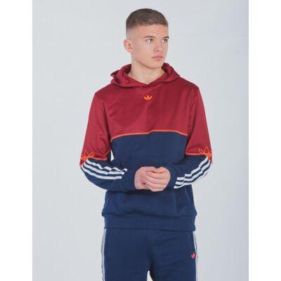 Adidas Originals, OUTLINE HOODIE, Blå, Hættetrøjer till Dreng, 128 cm - Børnetøj - Adidas Originals