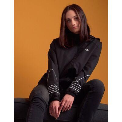 Adidas Originals, OUTLINE WB, Sort, Jakker/Fleece/Veste till Pige, 146 cm - Børnetøj - Adidas Originals