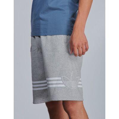 Adidas Originals, OUTLINE SHORTS, Grå, Shorts till Dreng, 140 cm - Børnetøj - Adidas Originals