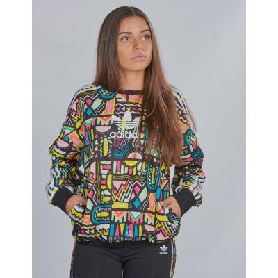 Adidas Originals, CREW, Multi, Trøjer/Cardigans till Pige, 140 cm - Børnetøj - Adidas Originals