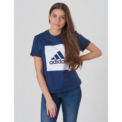 Adidas Performance, YB MH BBOS T, Blå, T-shirt/toppe till Pige, 164 cm - Børnetøj - Adidas Performance