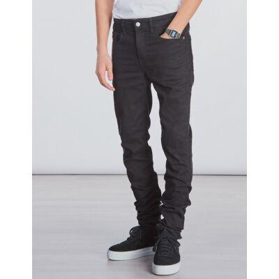 Calvin Klein, SKINNY SUST BLACK STRETCH, Sort, Jeans till Dreng, 14 år - Børnetøj - Calvin