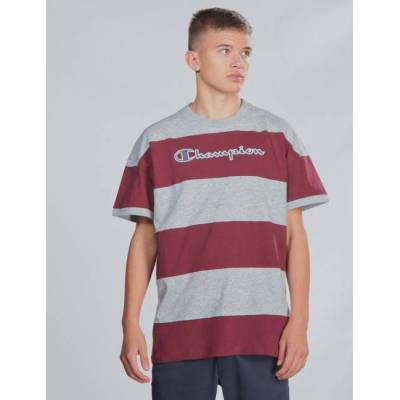Champion Rochester, Crewneck T-Shirt, Lilla, T-shirt/toppe till Dreng, L - Børnetøj - Champion Rochester
