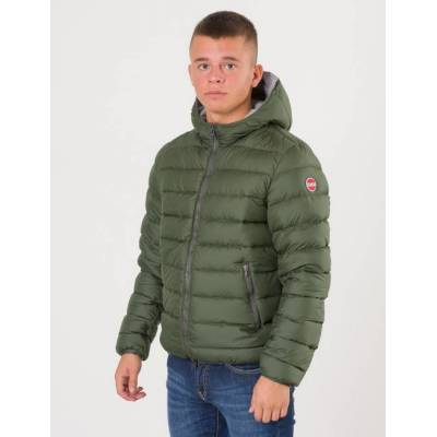 Colmar, Hooded Down Jacket II, Grøn, Jakker/Fleece/Veste till Dreng, 10 år - Børnetøj - Colmar