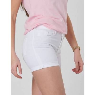 Gant, TG. GANT TWILL SHORTS, Hvid, Shorts till Pige, 170 cm - Børnetøj - Gant