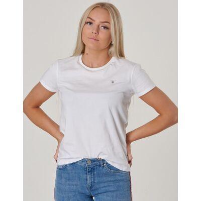 Gant, D1. TEENS THE ORIGINAL SS T-SHIRT, Hvid, T-shirt/toppe till Pige, 134-140 - Børnetøj - Gant